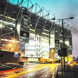 Newcastle United St James' Park Stadium Tour for One Adult and One Child - £13 at BuyAGift
