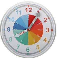 Argos Home Children's Wall Clock £6 @ Argos - (Free Click and Collect)