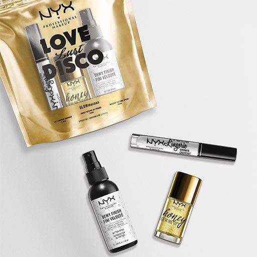 NYX Professional Makeup Love Lust Disco Glowmorous Sachet - £10 @ Superdrug