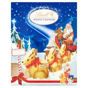 Lindt Advent Calendar reduced to £3.00 in Co-op