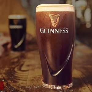 Free pint of guinness - Just enter your postcode for participating pubs (Via Mobile device)