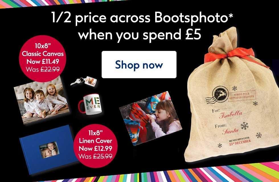 Half price photo deal @ Boots Photo