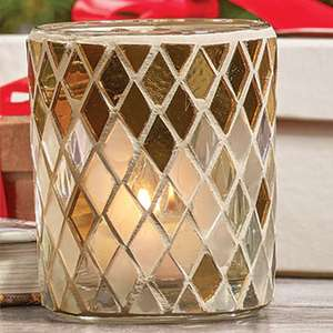 Yankee Official 6 Mosaic Votive or Tea Light Candle Holders (Candles not Included) £10.00 @ Yankee Bundles (Free P&P)