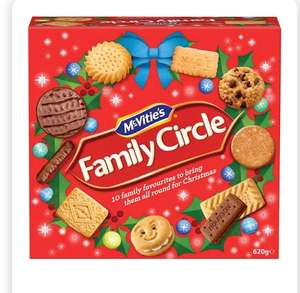 Family circle biscuit box 620g in Home bargains only £1.99
