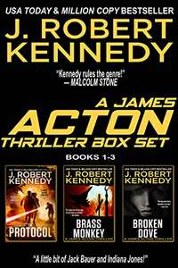 The James Acton Thrillers Series: Books 1-3 (The James Acton Thrillers Series Box Set Book 1) Kindle Edition - 99p