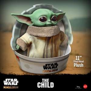 Star Wars: The Mandalorian The Child (Baby Yoda) 11 inch plush (Preorder) £27.94 delivered @ Kapow Toys