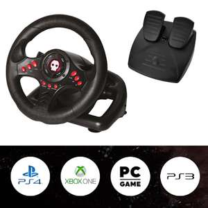 Numskull Gaming Steering Wheel for PC / PS4 / PS4 / Xbox One - £29.99 Delivered Using Code @ GeekStore