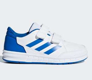 Kids Adidas Altasport trainers white/blue/pink Now £10.48 plus1.99 delivery with code various sizes @ adidas