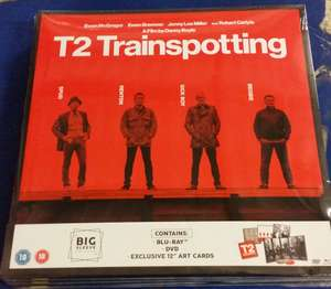 T2 trainspotting big sleeve edition £2 cex instore £3.50 delivered @ CEX