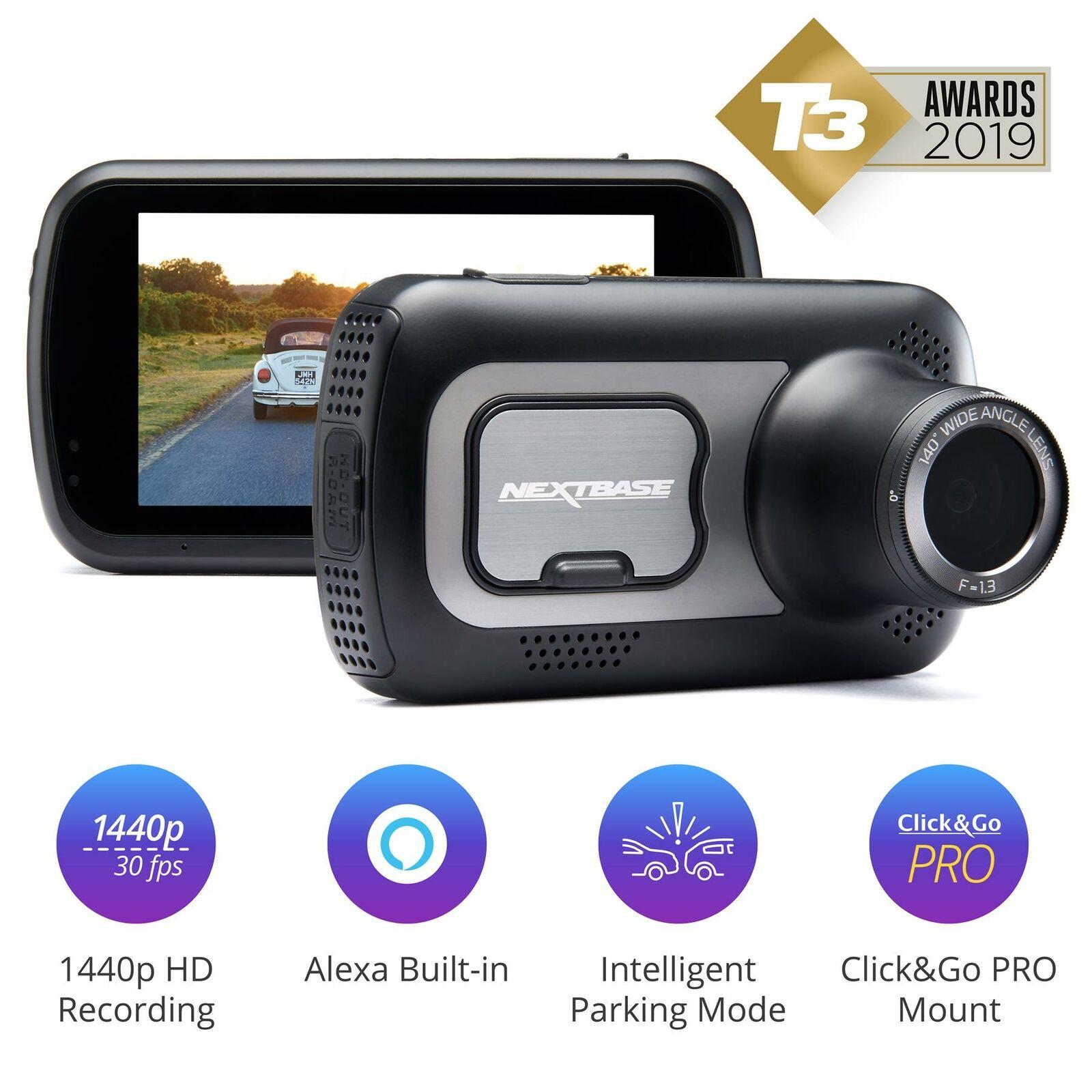 Nextbase 522GW Front Dash Cam Free Case Bundle Night Vision Camera £119.95 @ Velocity Electronics / eBay
