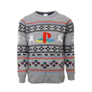 Official PlayStation Christmas Jumper £17.49 Delivered using code @ Geekstore