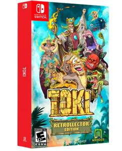 Toki Collectors Edition (Nintendo Switch) - £14.95 delivered @ The Game Collection