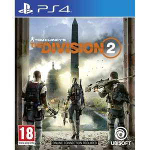 Tom Clancy's Division 2 £10.95 PS4 £11.95 Xbox One + Free Delivery @Game Collection