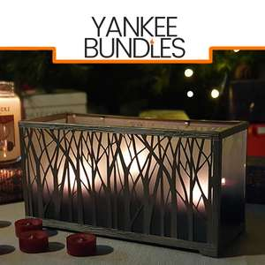 Yankee Candle Festive Winter Forest Multi Tea Light Candle Holder £8 / £7.60 Delivered For New Accounts Using Code @ Yankee Bundles