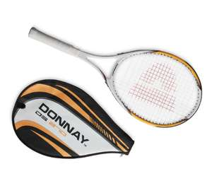Adult donnay tennis Raquet only 91p at Aldi Airdrie top cross