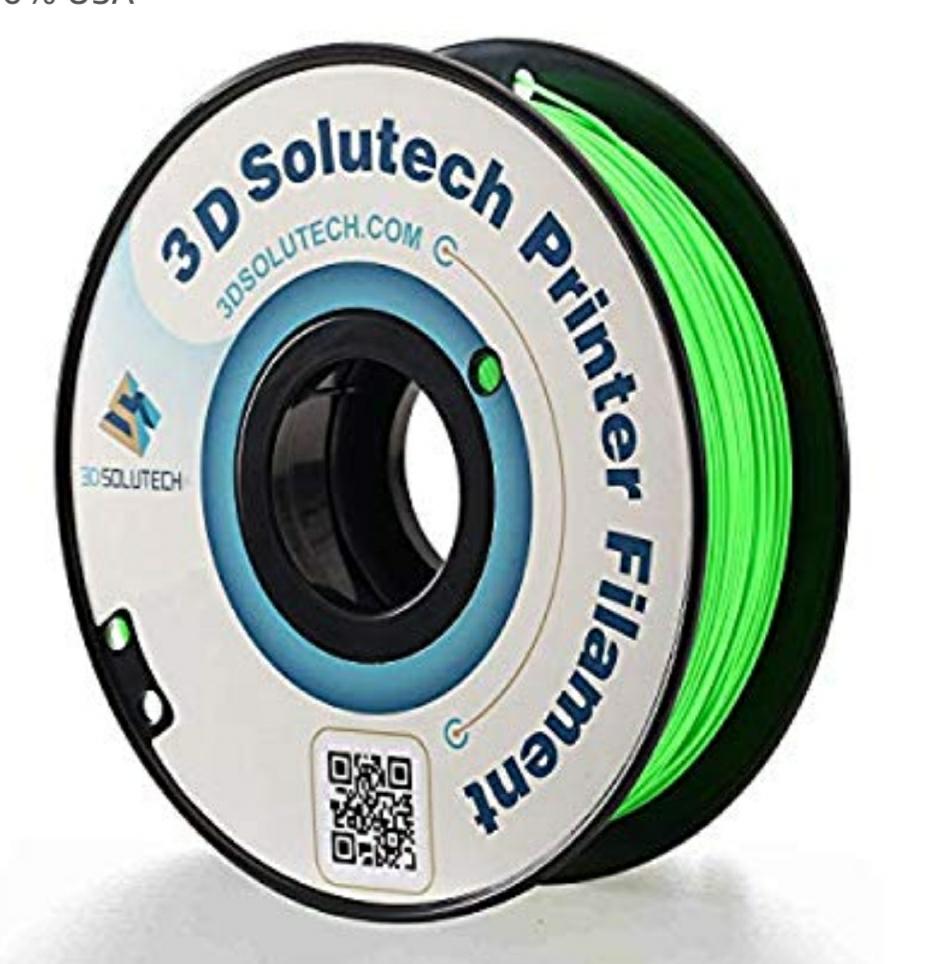 3D Solutech PLA Filament - Various colours - £10.48 @ Amazon (US / Global fulfillment)