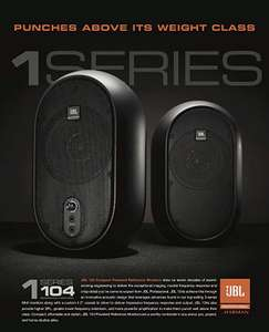 JBL 1 Series 104 Compact Powered Desktop Reference Monitors (sold as pair) - £69.99 @ Amazon