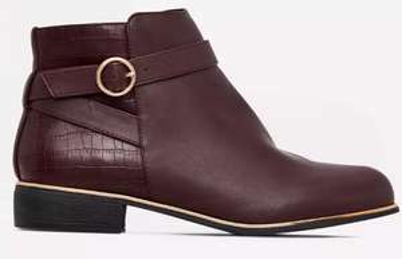 DP burgundy boots £15 @ Debenhams