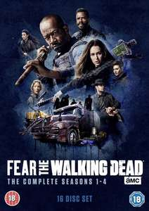 Fear the Walking Dead: The Complete Seasons 1-4 DVD Box-Set £31.40... Or 2 for £12 @ Zoom