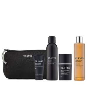 Elemis Men's 4 Piece Grooming Heroes Gift Collection £40.93 Delivered @ QVC
