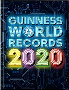 Guinness World Records 2020, £8 @ Amazon (+£2.99 Non-prime)