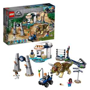LEGO 75937 Jurassic World Triceratops Rampage Dinosaur Set £39.95 @ Amazon