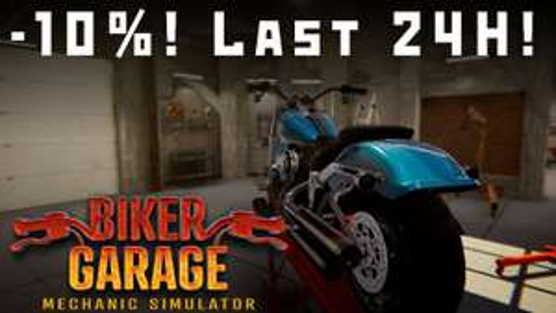 Biker Garage: Mechanic Simulator £17.54 @ Steam