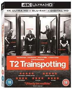 T2 Trainspotting [4K Ultra HD Digital] 4K + Blu-ray + Digital £8.49 (Prime) / £11.48 (non Prime) @ Amazon