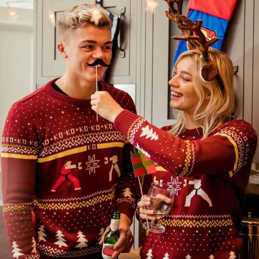 Street Fighter Christmas Jumper £19.99 @ Geekstore