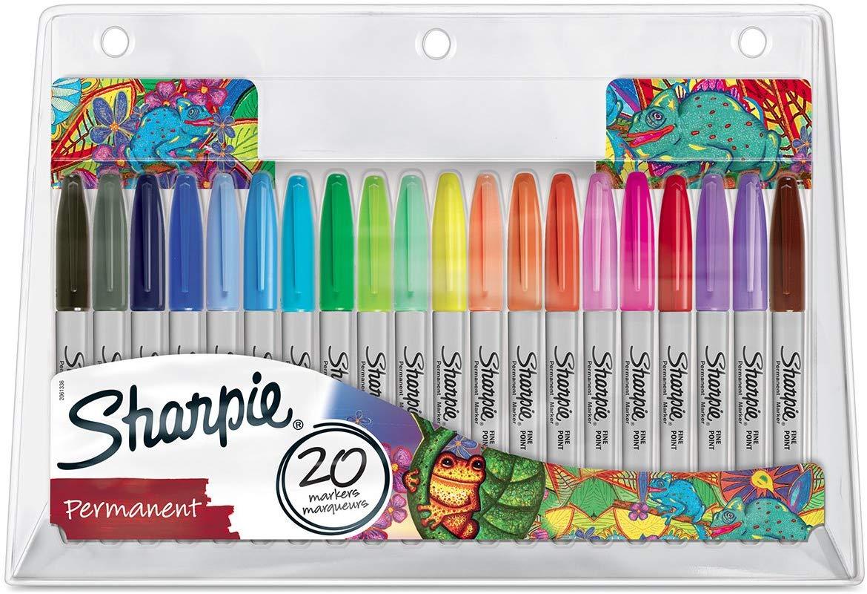Sharpie fine point permanent markers 20 pack £9.04 @ Amazon (£4.49 p&p non prime)