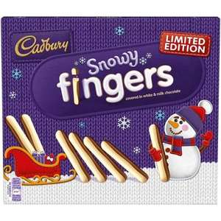 Cadbury Snowy Chocolate Fingers Biscuits 2x115g £1.35 @ Sainsbury's