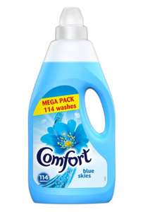Comfort Blue Fabric Conditioner 114 wash 4 litre - £4 Tesco online and in store