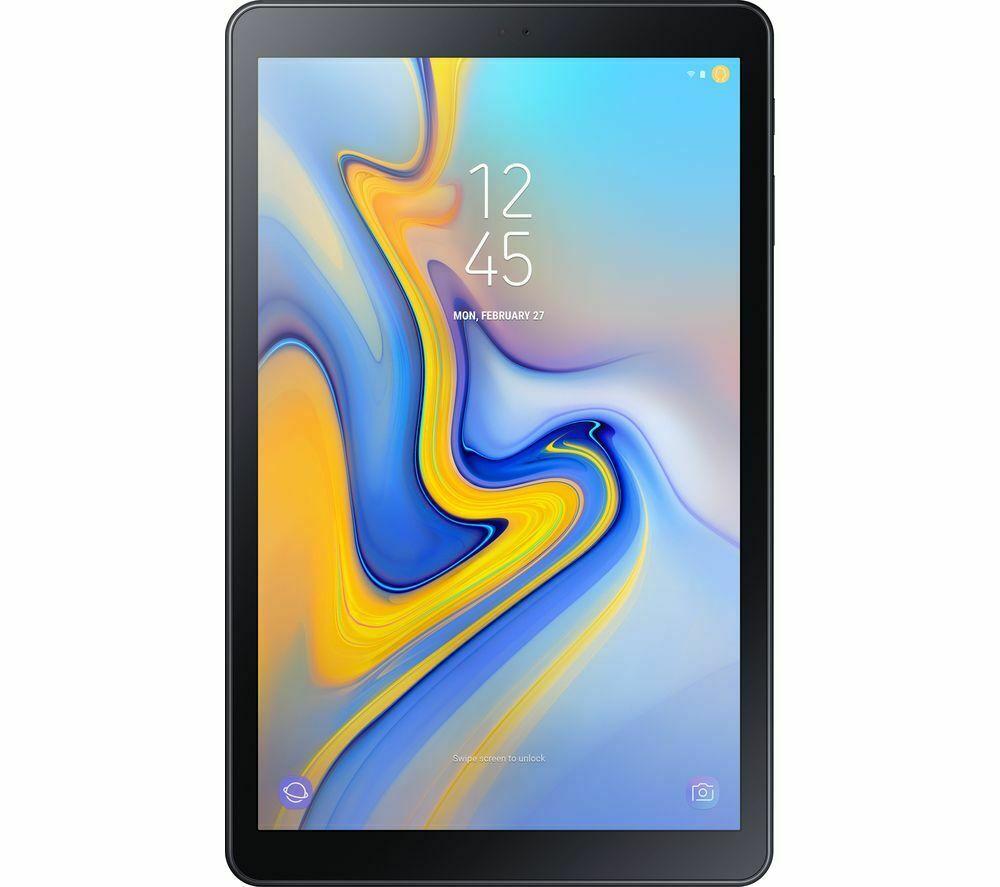 """SAMSUNG Galaxy Tab A 10.5"""" Tablet - 32 GB, Black - Refurbished £142.12 ebay / currys_clearance"""