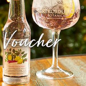 A free bottle of Rekorderlig Botanicals at pitcher and piano