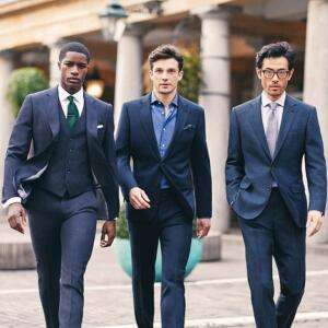 Over 40 2 Piece Suits priced at just £59.95 with code + Free Click & Collect + Free Returns @ Moss Bros