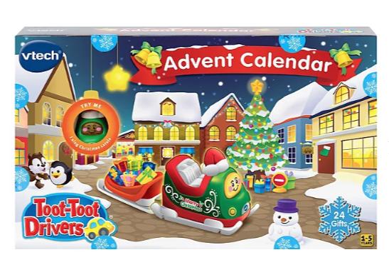 Toy Advent calendars reduced in Asda e.g Vtech Toot-Toot Drivers Advent Calendar £10