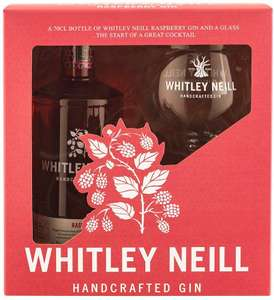 Whitley Neill Raspberry Gin and Glass Gift Pack £23.80 @ Amazon