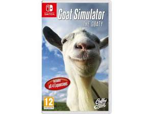 Goat Simulator: The GOATY for Nintendo Switch £22.95 delivered @ Coolshop