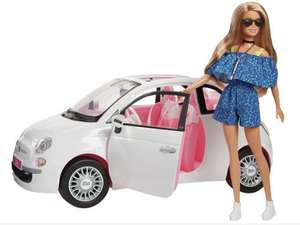 Barbie Fiat Car and Doll Exclusive £24 @ Argos