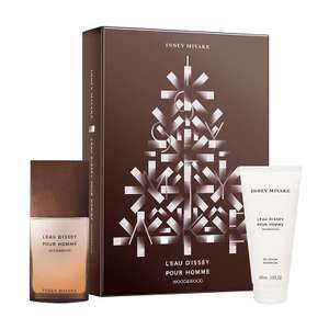 Issey Miyake L'Eau D'Issey Wood & Wood Gift Set 50ml £33.95 delivered with code @ Fragrance Direct