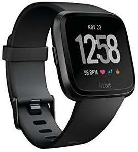 Fitbit Versa health and fitness smartwatch with heart rate,music and swim tracking (various colours) £127.99 @ Amazon