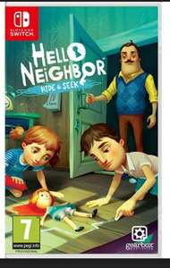 Hello Neighbour Hide & Seek Switch £15.95 Free delivery @ The game collection