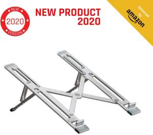KLIM™ Steady Portable Laptop Stand + Foldable iPad Stand + Light & Laptop Riser £8.90 / £13.39 (nP) Sold by M.E. Technologies UK & FBA