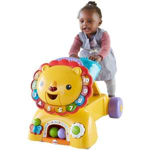 Fisher-Price 3-in-1 Sit, Stride & Ride Lion now £23.99 with code @ Argos