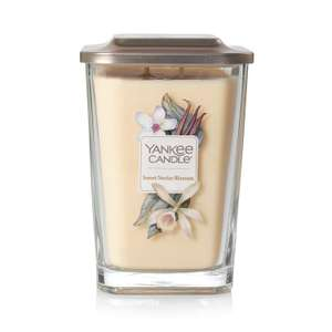 Yankee Candle Elevation Collection with Platform Lid Large 2-Wick Square Candle, Sweet Nectar Blossom - Amazon Global Store - £7.79 inc. Del