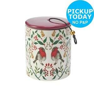 Argos Home Christmas Spice Candle with Red Lid £3 @ Argos on eBay c&c