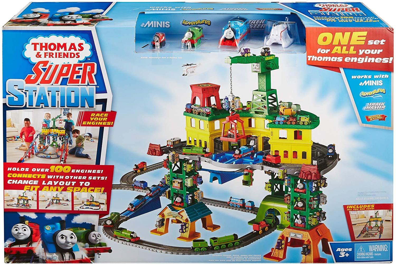 Thomas & Friends Super Station Train Set £64.00 Delivered @ Amazon