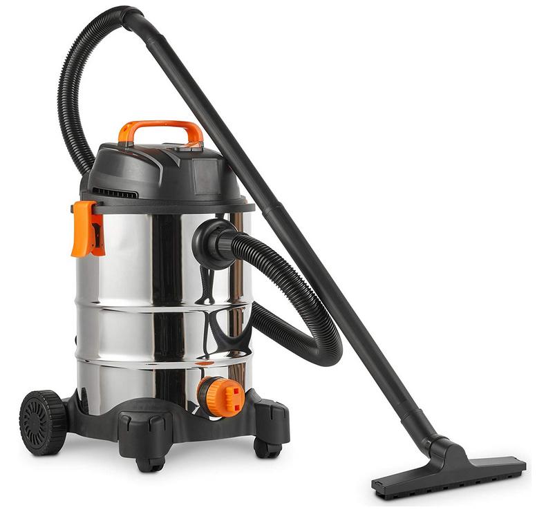 VonHaus Wet and Dry Vacuum Cleaner - Bagless 30L Vac with Blower - 1250W - Large Capacity + 2 Year Warranty - £44.99 delivered @ Vonhaus