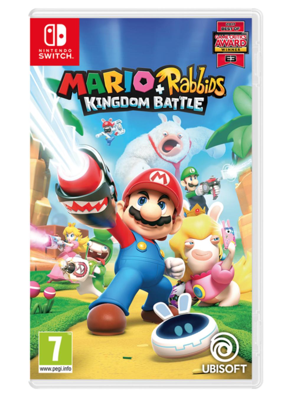 Nintendo Switch Mario + Rabbids Kingdom Battle - £17.85 delivered @ ShopTo