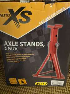 2 Tonne Axle Stands £6.99 - Aldi Great Barr (Probably Nationwide)